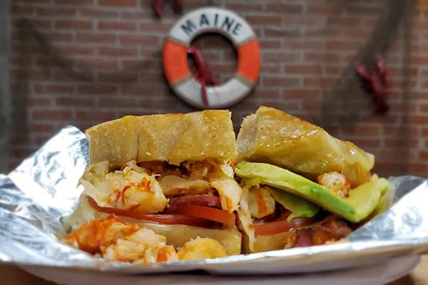 The Stadium Bar Harbor - Lobster BLAT
